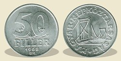 1968-as 50 fillér - (1968 50 fillér)
