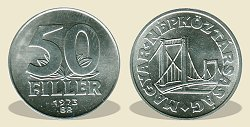 1973-as 50 fillér - (1973 50 fillér)