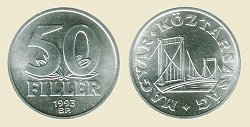 1993-as 50 fillér - (1993 50 fillér)