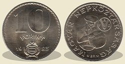 1983-as 10 forint FAO